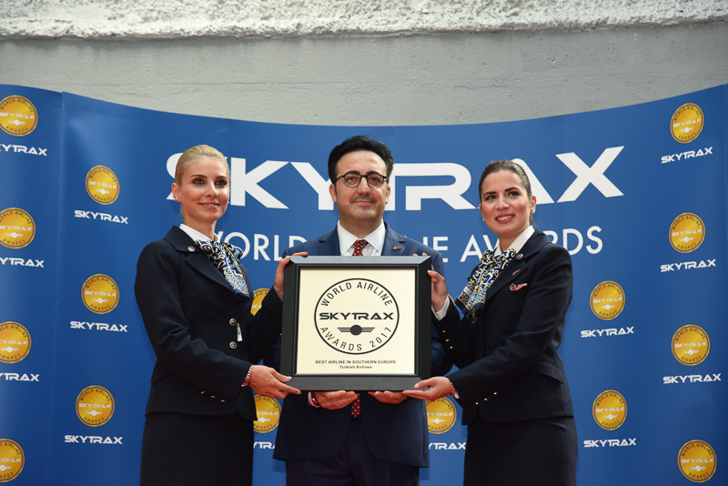 Best Airline in Southern Europe:Turkish Airlines