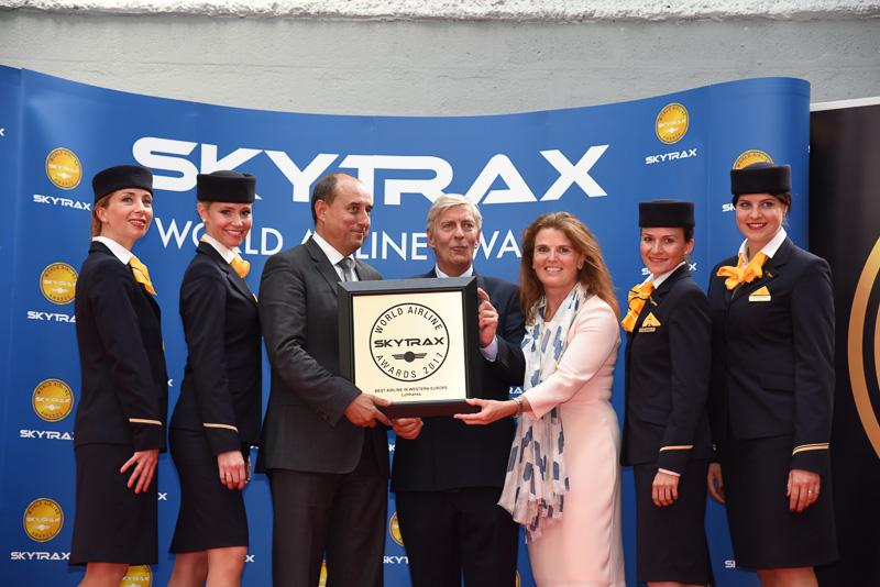 Best Airline in Western Europe:Lufthansa