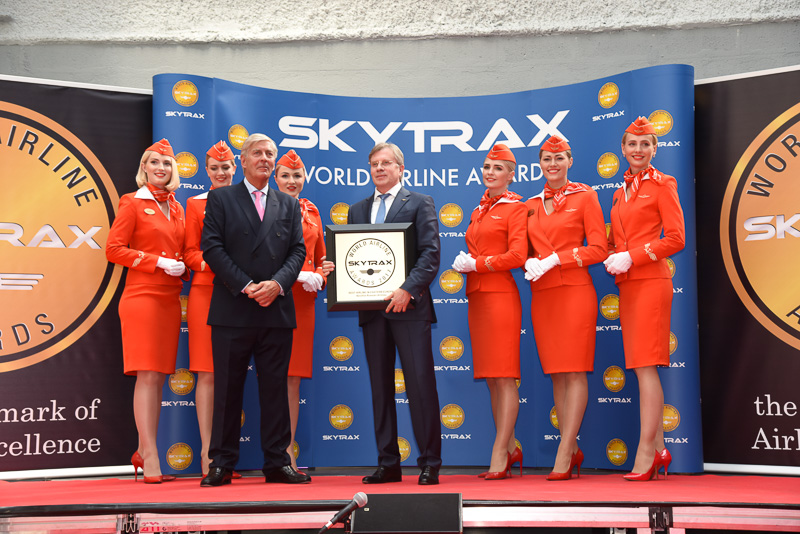 Best Airline in Eastern Europe:Aeroflot Russian Airlines