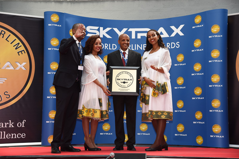 Best Airline in Africa:Ethiopian Airlines