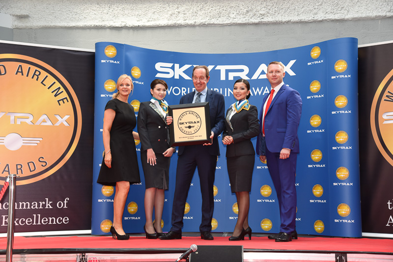 Best Airline in Central Asia / India:Air Astana
