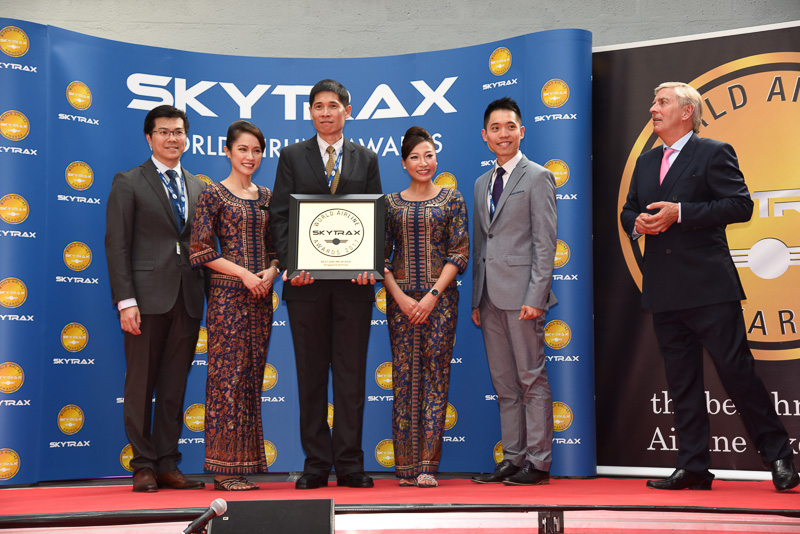 Best Airline in Asia:Singapore Airlines