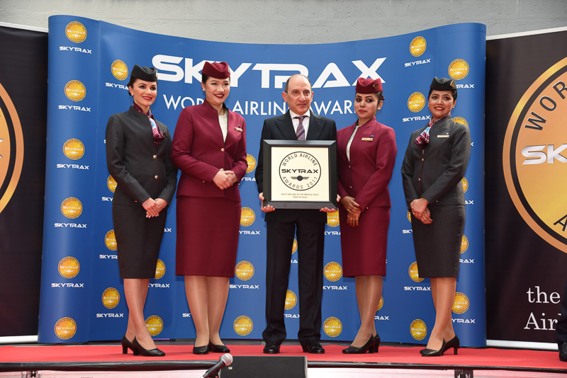 Best Airline in the Middle East:Qatar Airways