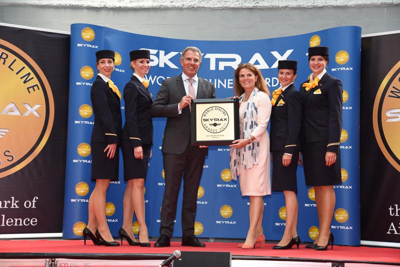 Best Airline in Europe:Lufthansa