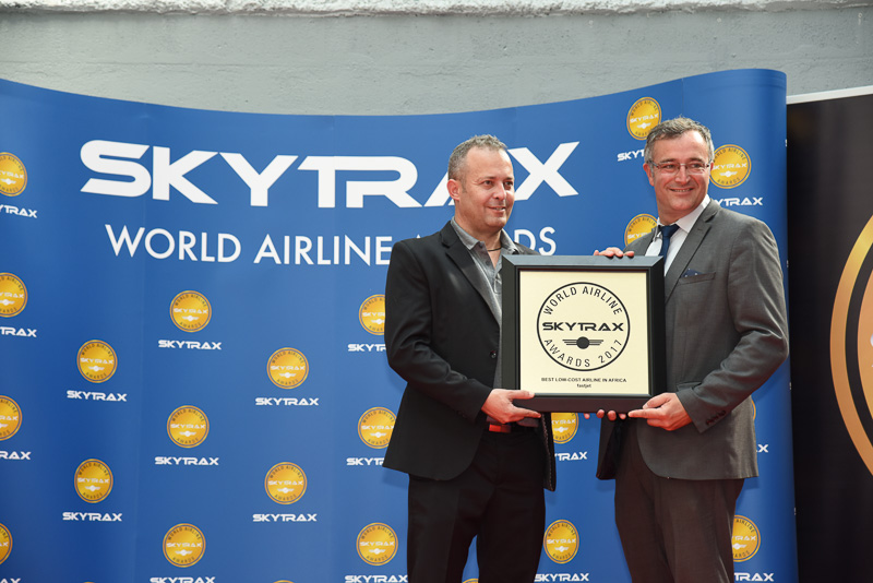 Best Low-Cost Airline in Africa:fastjet