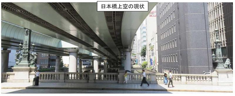 日本橋上空を走る首都高