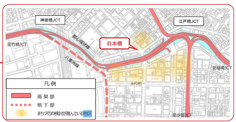 日本橋周辺地図