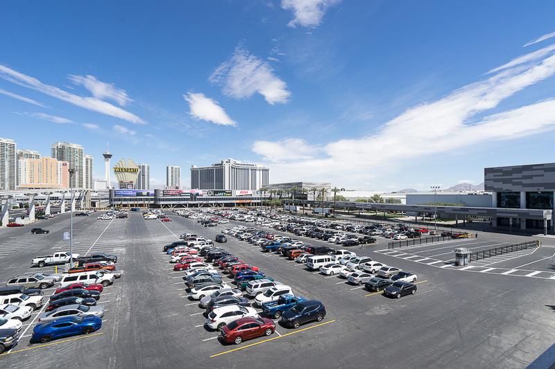ラスベガス・コンベンション・センター全体を見渡したところ