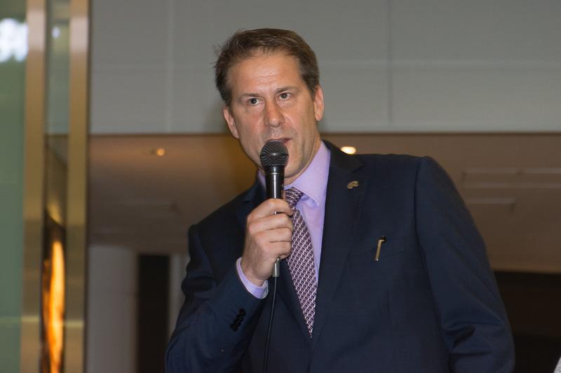 ニュージーランド航空 日本支社長 クロヴィス・ペリエ氏