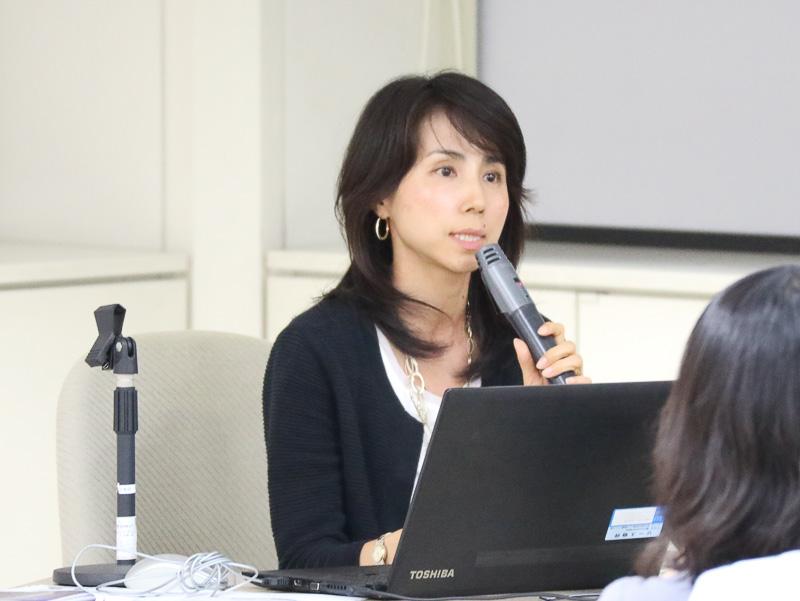 TOTO株式会社 東京プレゼンテーショングループ 岡田美紀氏