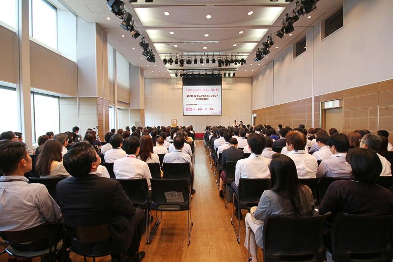 今年度の総括「なでしこフォーラム」を東京・天王洲のJAL本社で開催した