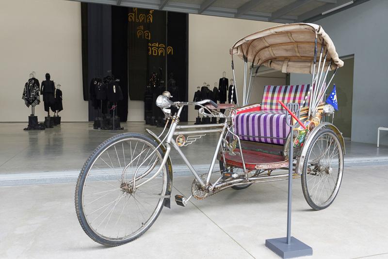 かつて使われていた三輪車