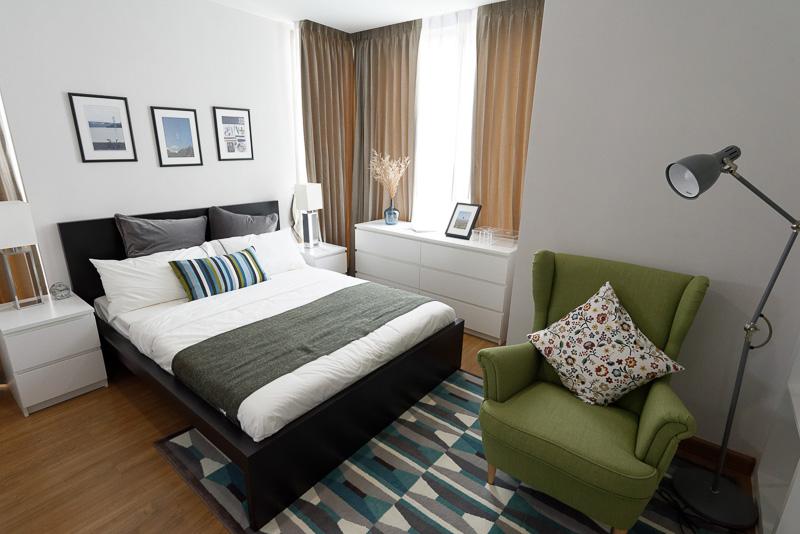 55m<sup>2</sup>の2ベッドルーム。500万バーツ(約1500万円)