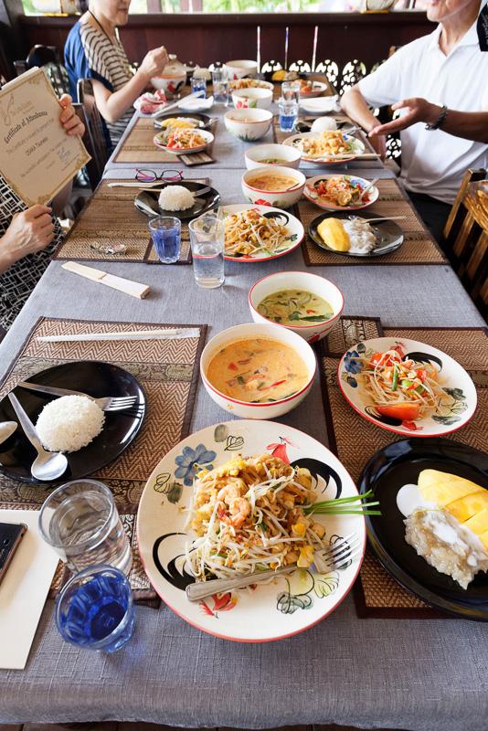 日本人が作ったタイ料理。見事な出来栄え