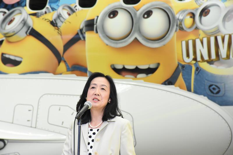 日本航空株式会社 執行役員 西日本地区支配人 中野星子氏