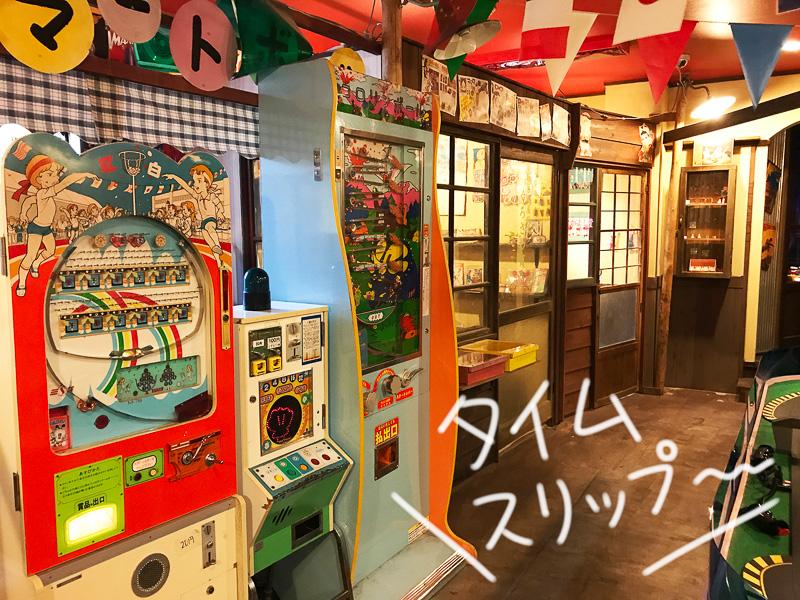 2階のおもちゃ博物館。昭和40年代に大ブームとなったスロットレーシングなども楽しめます