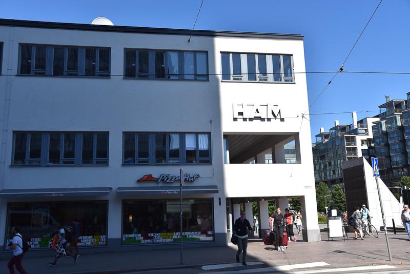 約9000点の作品を所蔵するヘルシンキ市立美術館(HAM)