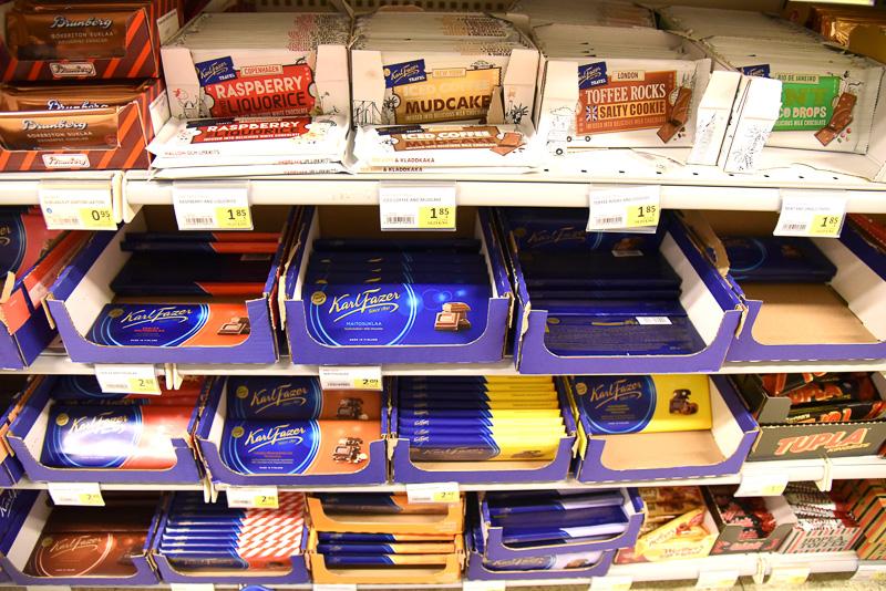 フィンランドの老舗チョコレートカンパニー「Fazer」のチョコレートはお土産用に