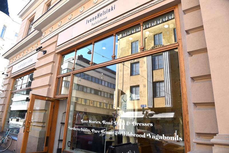 デザイン・ディストリクトのエリアにある「Ivana Helsinki」