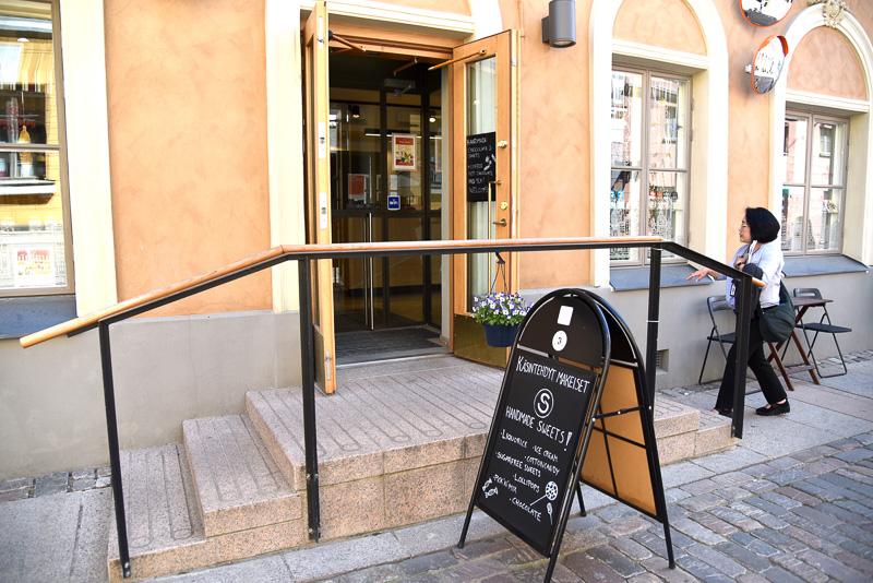 マーケットからすぐの路地にある「Sweet Story Helsinki」