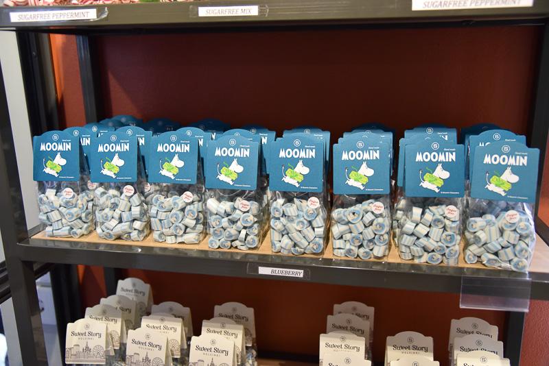 ムーミンモチーフのキャンディ(5.9ユーロ、約770円)<BR/>(C)Moomin Characters<sup>TM</sup>