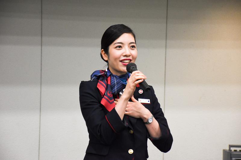日本航空株式会社 羽田第2客室乗員部 乙武英里氏