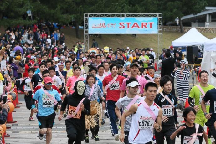 「りんくう<ハロウィン>リレーマラソン2017」が10月29日に開催される