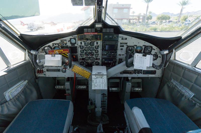 Vistalinerの操縦席