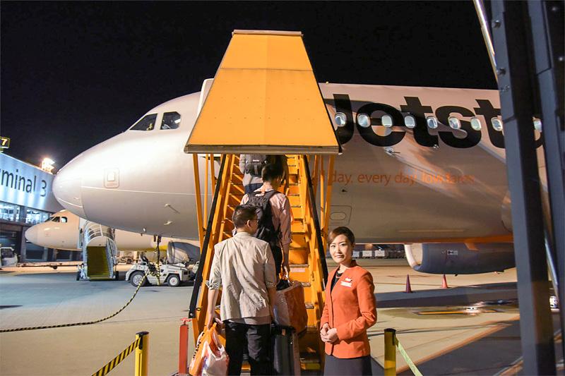 こういう感じで機体が見えるように搭乗したことがないのでとても新鮮
