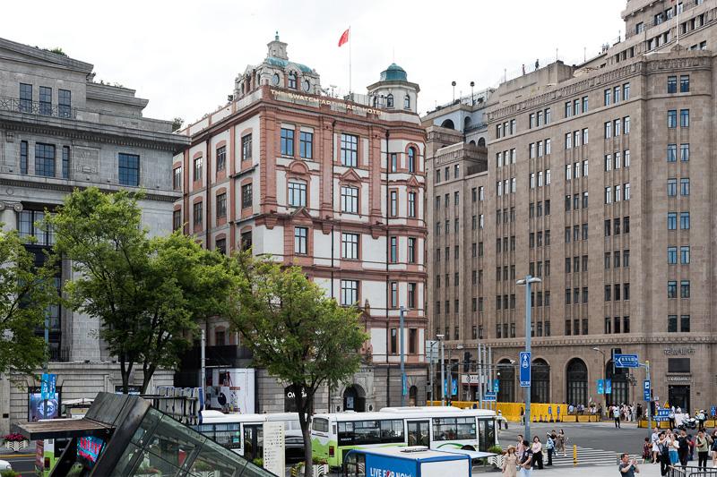 スウォッチアートピースホテル(和平飯店南楼)。旧パレスホテルとしても知られる