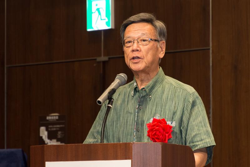沖縄県知事 翁長雄志氏