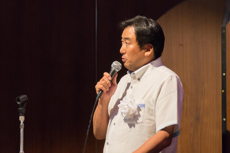 取り組みの内容を紹介した全日本空輸株式会社 沖縄支社 支社長 近藤博之氏
