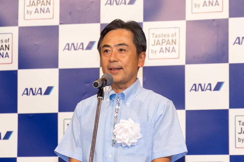 全日本空輸株式会社 執行役員 九州支社 九州支社長 宮川純一郎氏