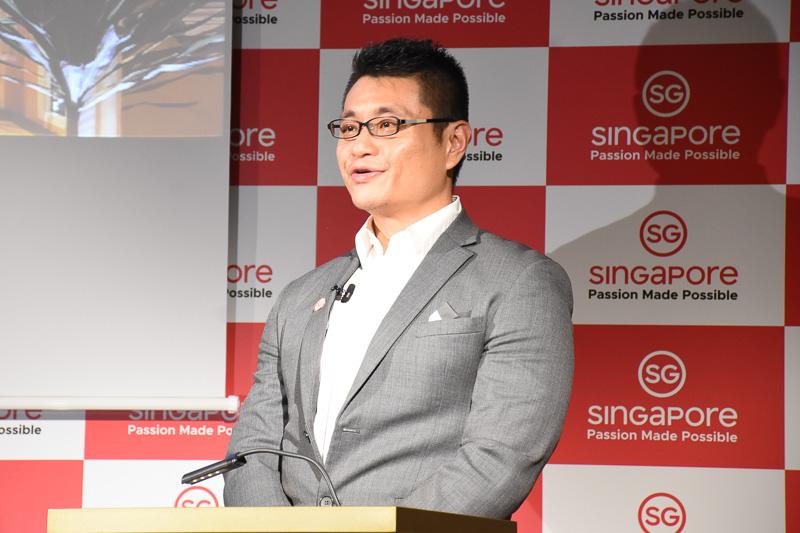 シンガポール政府観光局 北アジア局長 マーカス・タン氏