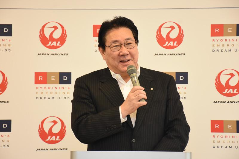 日本航空株式会社 代表取締役社長 植木義晴氏