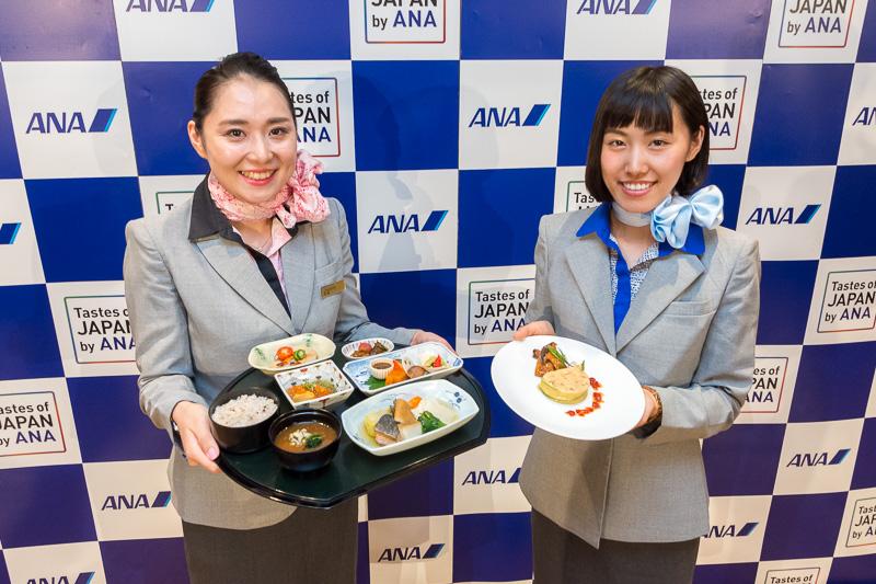 ANAと岩手県が9月~11月に実施する「Tastes of JAPAN by ANA IWATE」の記者発表会を実施。司会を務めたCA(客室乗務員)と仙台空港の地上旅客スタッフは、ともに岩手県出身
