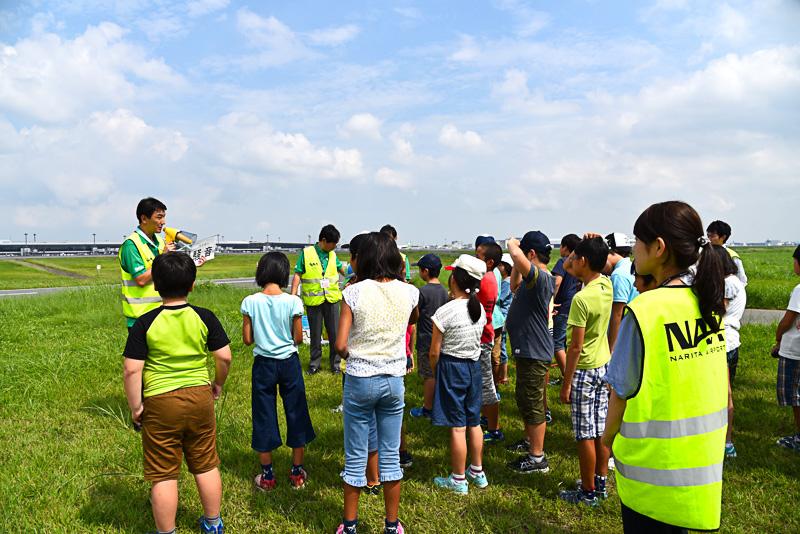 プログラムの冒頭では「騒音とは?」と共生・用地部門地域共生部所属の今井氏が解説