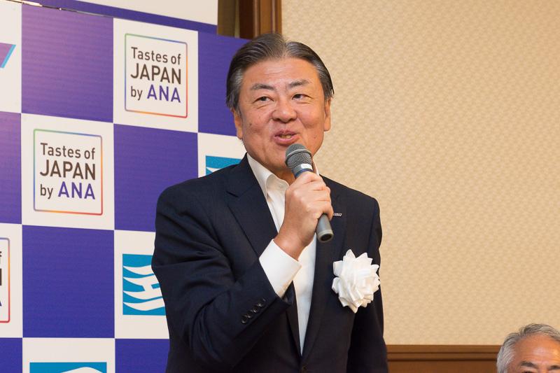 全日本空輸株式会社 代表取締役副社長 志岐隆史氏