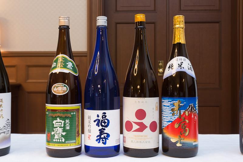 羽田空港 国際線 ANA LOUNGEで2017年10月提供の國酒
