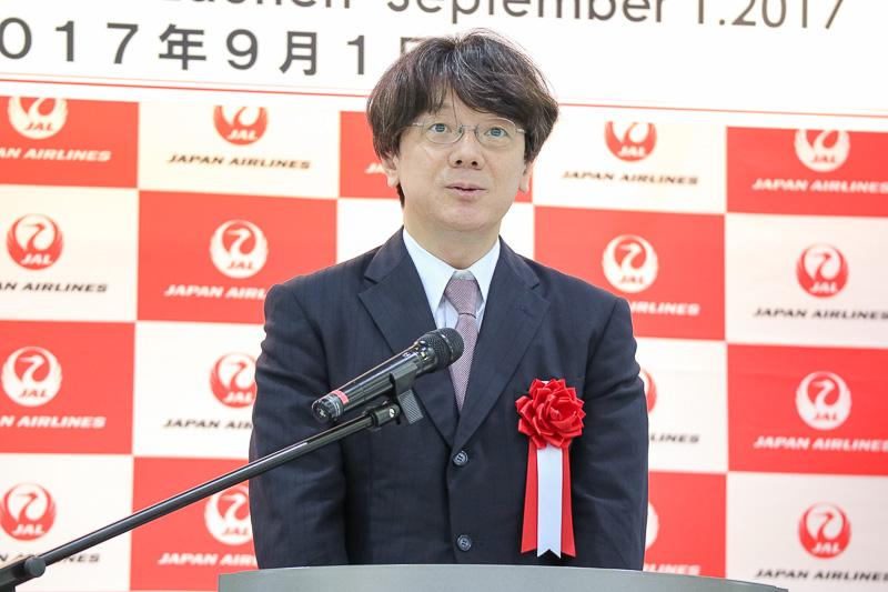 国土交通省 航空局 航空ネットワーク 部長 久保田雅治氏
