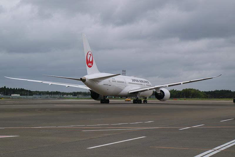 乗客159名を乗せたJL773便はメルボルンへ旅立った