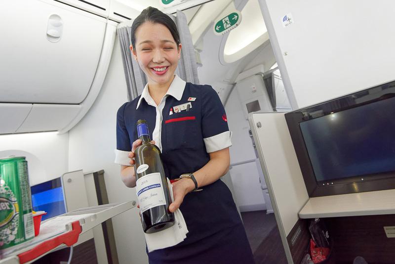 9月1日に就航した成田~メルボルン線のビジネスクラスを体験した