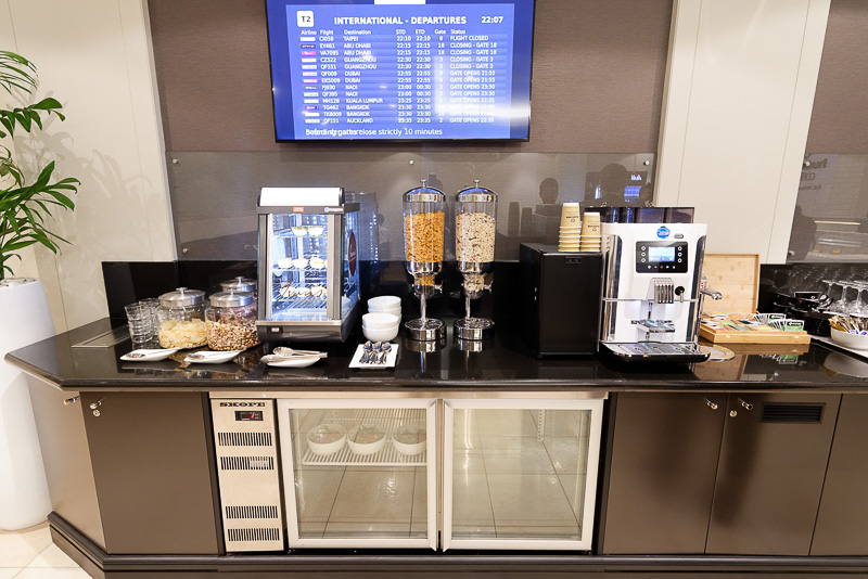 コーヒー、ソフトドリンク、アルコール類も用意