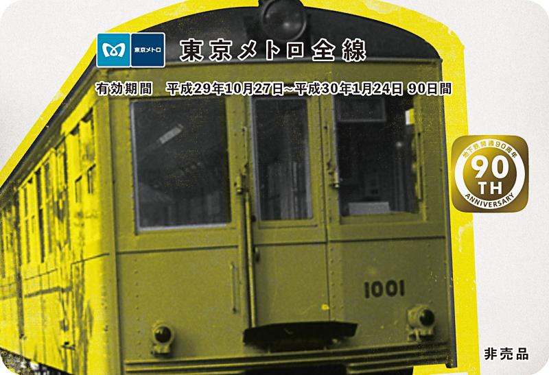 東京メトロ90日間全線パス