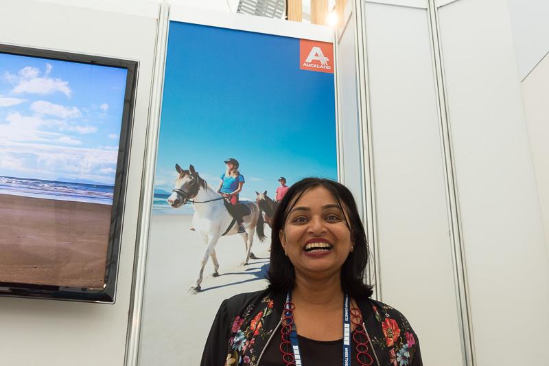 Auckland Tourism, Events and Economic DevelopmentのSharmila Patel氏