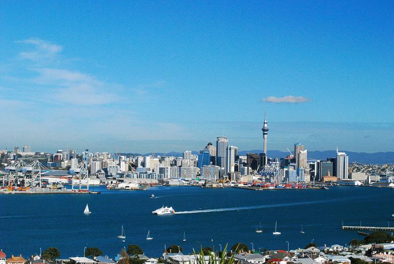 オークランドの街(C)Tourism New Zealand