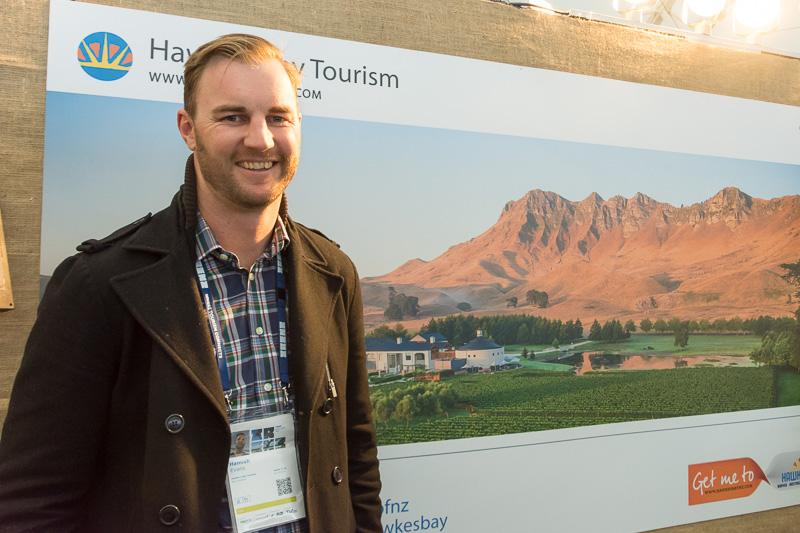 Hawke's Bay TourismのHamish Evans氏