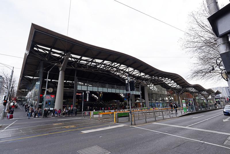 サザン・クロス駅の外観