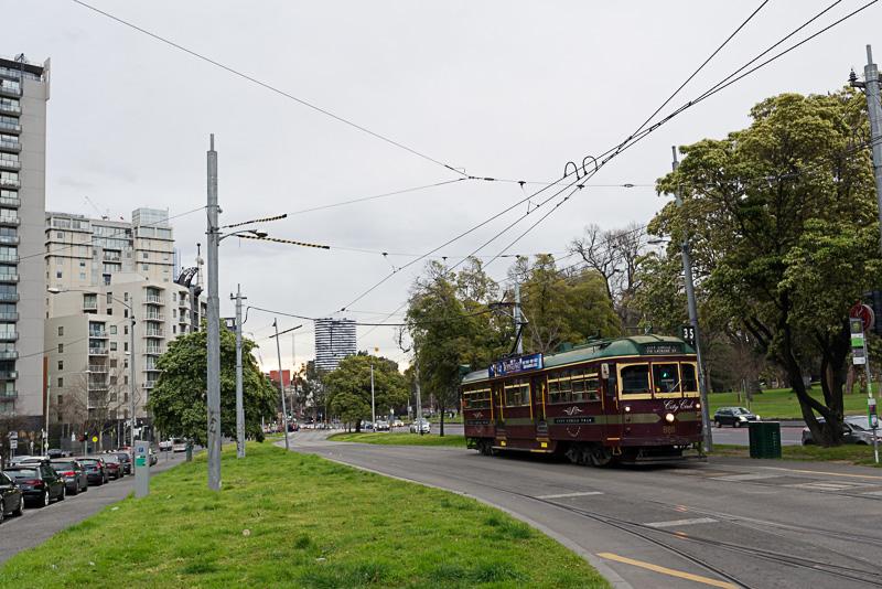 街の中心部は無料で乗車できるトラム