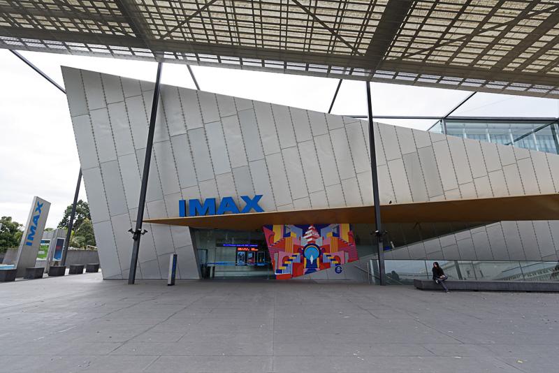 メルボルン博物館に併設されているIMAXシアター。左右だけじゃなく上下の異常なまでの視界の広さに終始感動しっぱなしだった